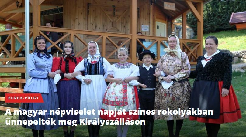Magyar nepviselet napja